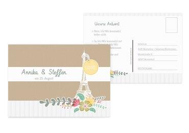 Antwortkarte Paris