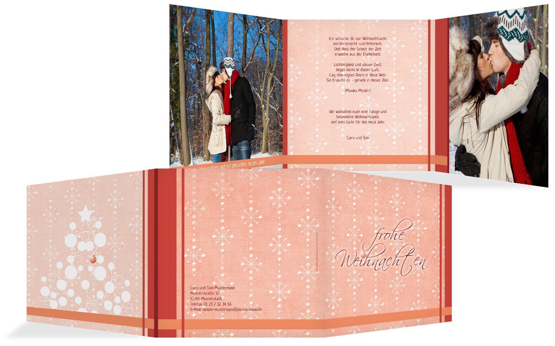 Foto Grußkarte Weihnachtszeit