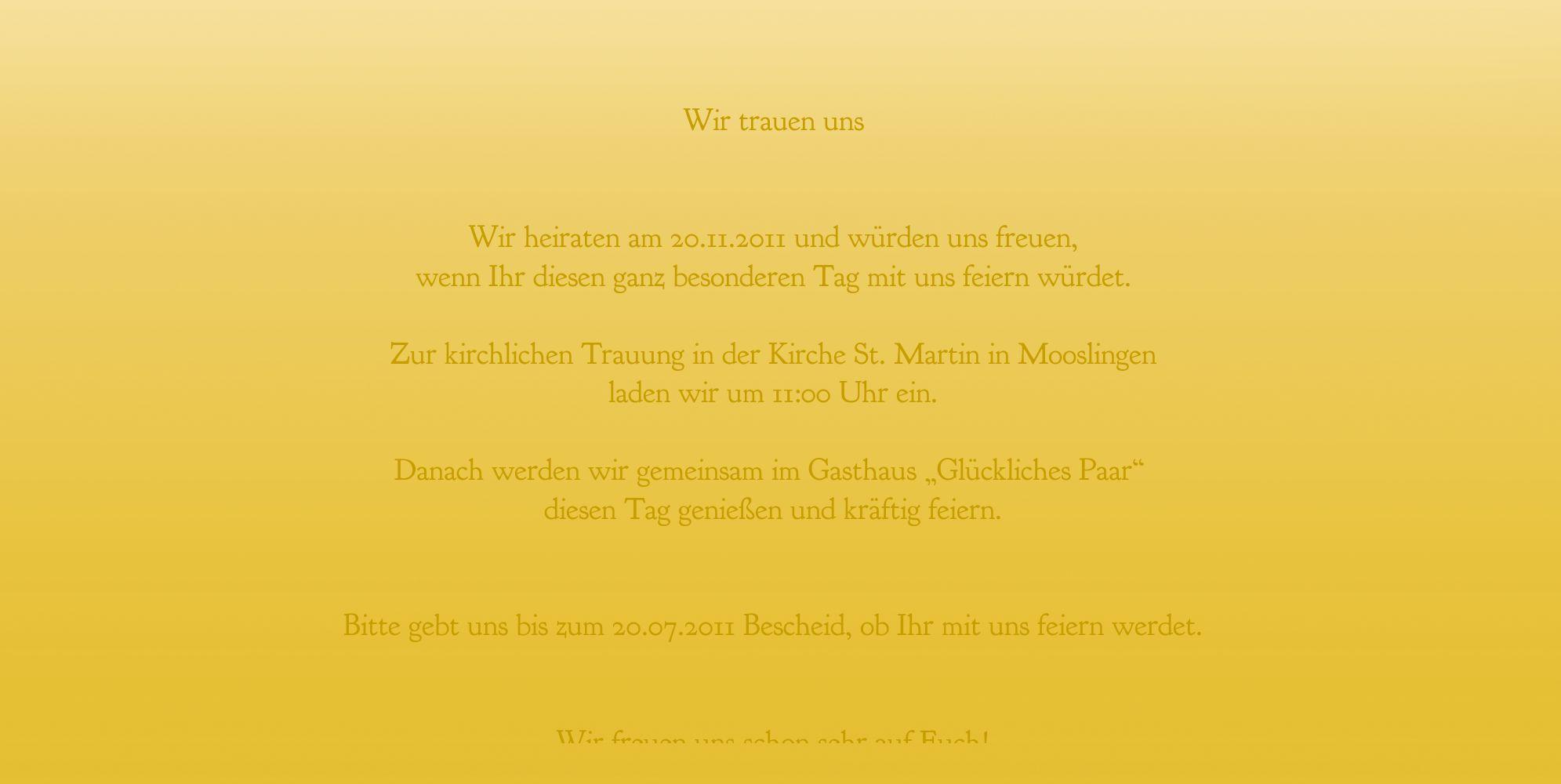 Ansicht 5 - Hochzeit Einladung Din Ringetausch