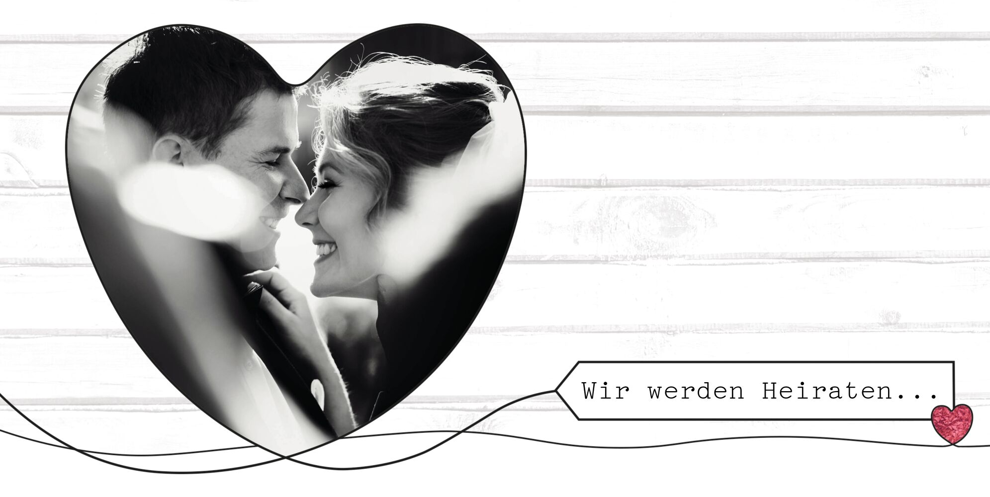 Ansicht 4 - Hochzeit Einladung Mr&Mrs