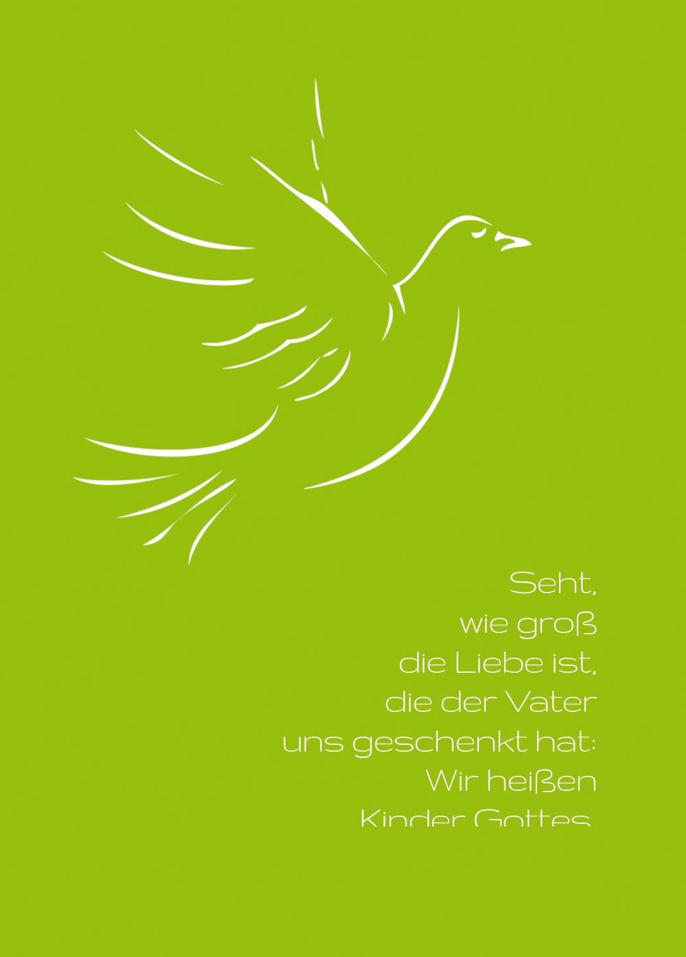 Ansicht 2 - Firmkarte Pigeon