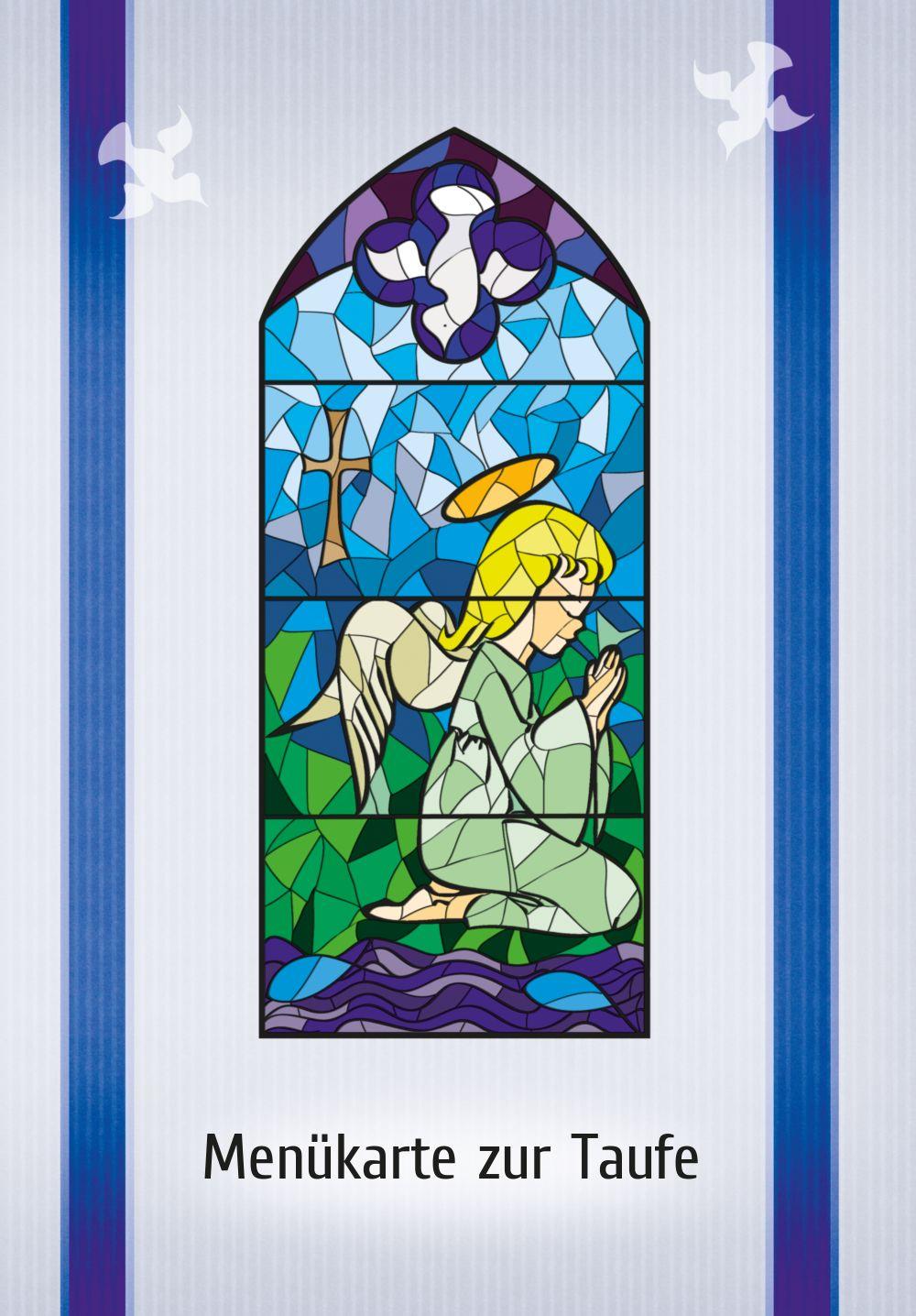 Ansicht 3 - Menükarte Kirchenfenster