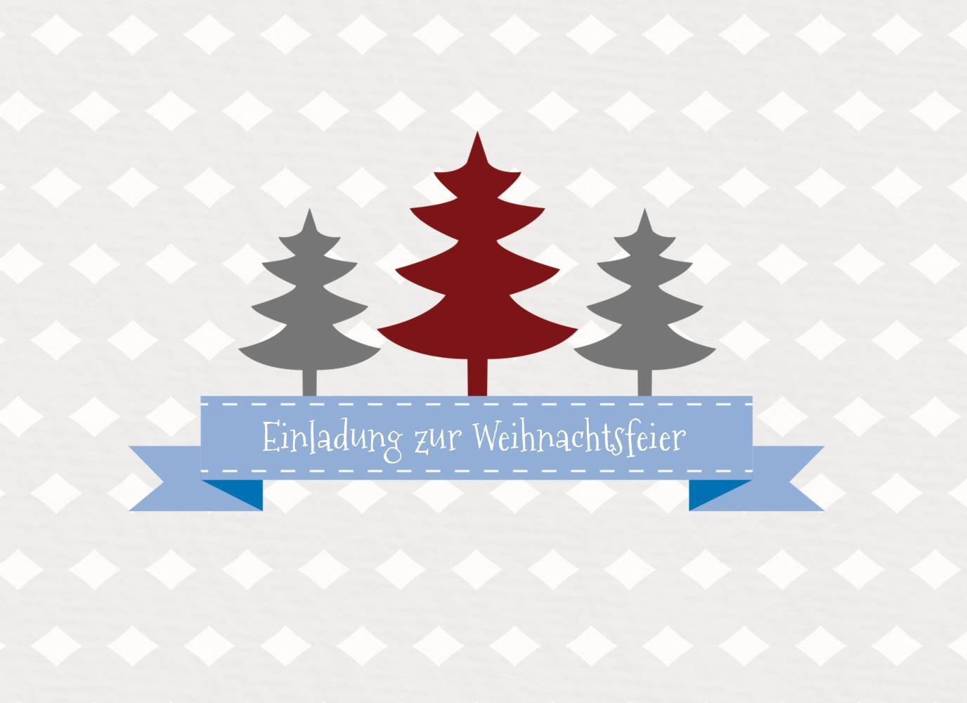 Ansicht 3 - Foto Einladung Tannenbaum Banner