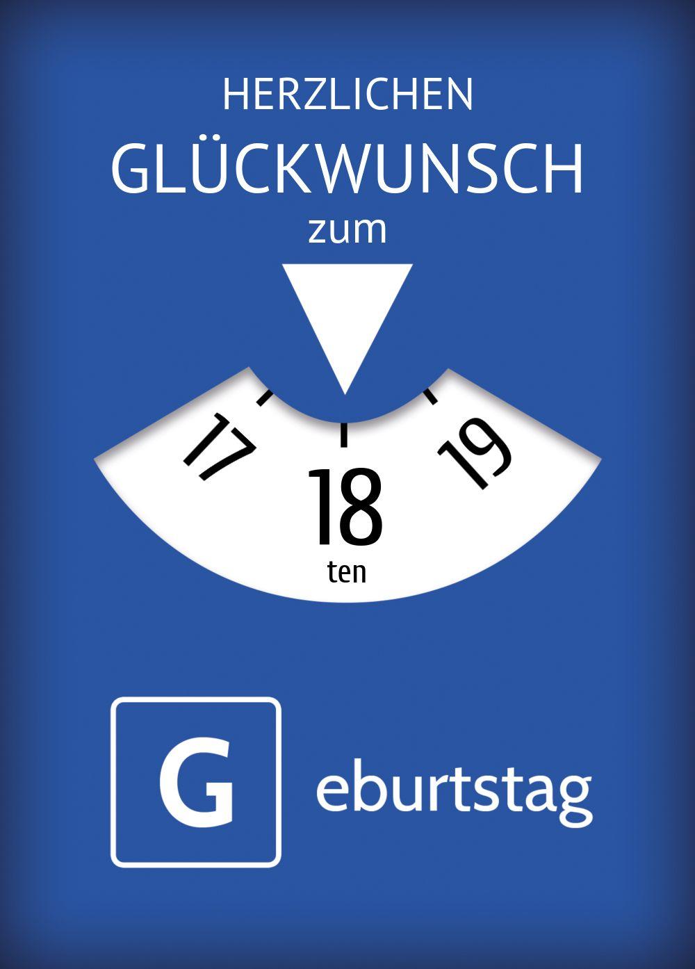 Ansicht 2 - Glückwunschkarte Parkuhr