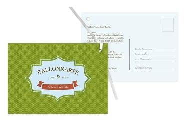 Ballonkarte Harmonie
