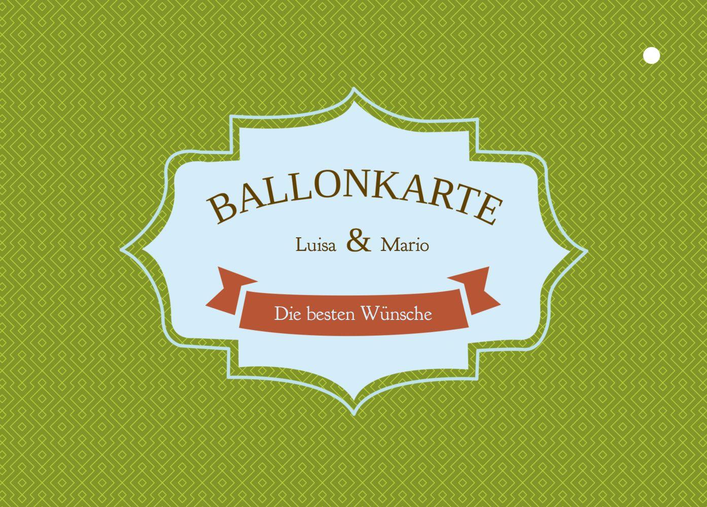 Ansicht 2 - Ballonkarte Harmonie