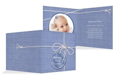 Babykarte Faden