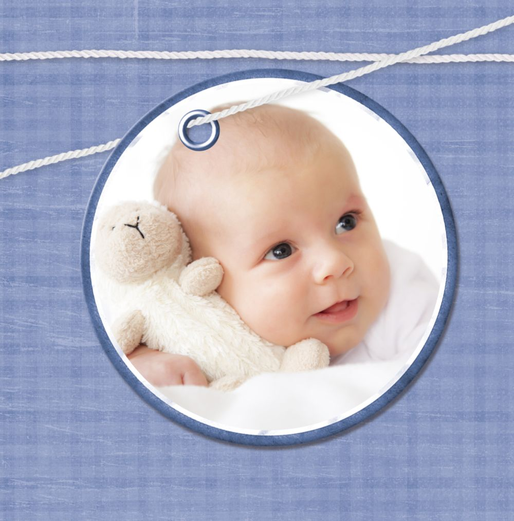 Ansicht 4 - Babykarte Faden