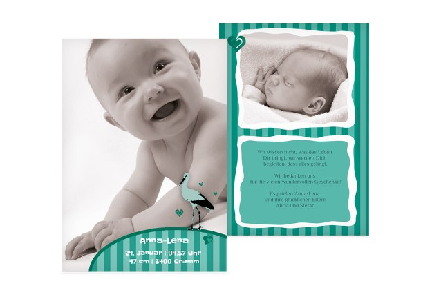 Babykarte Harmonie