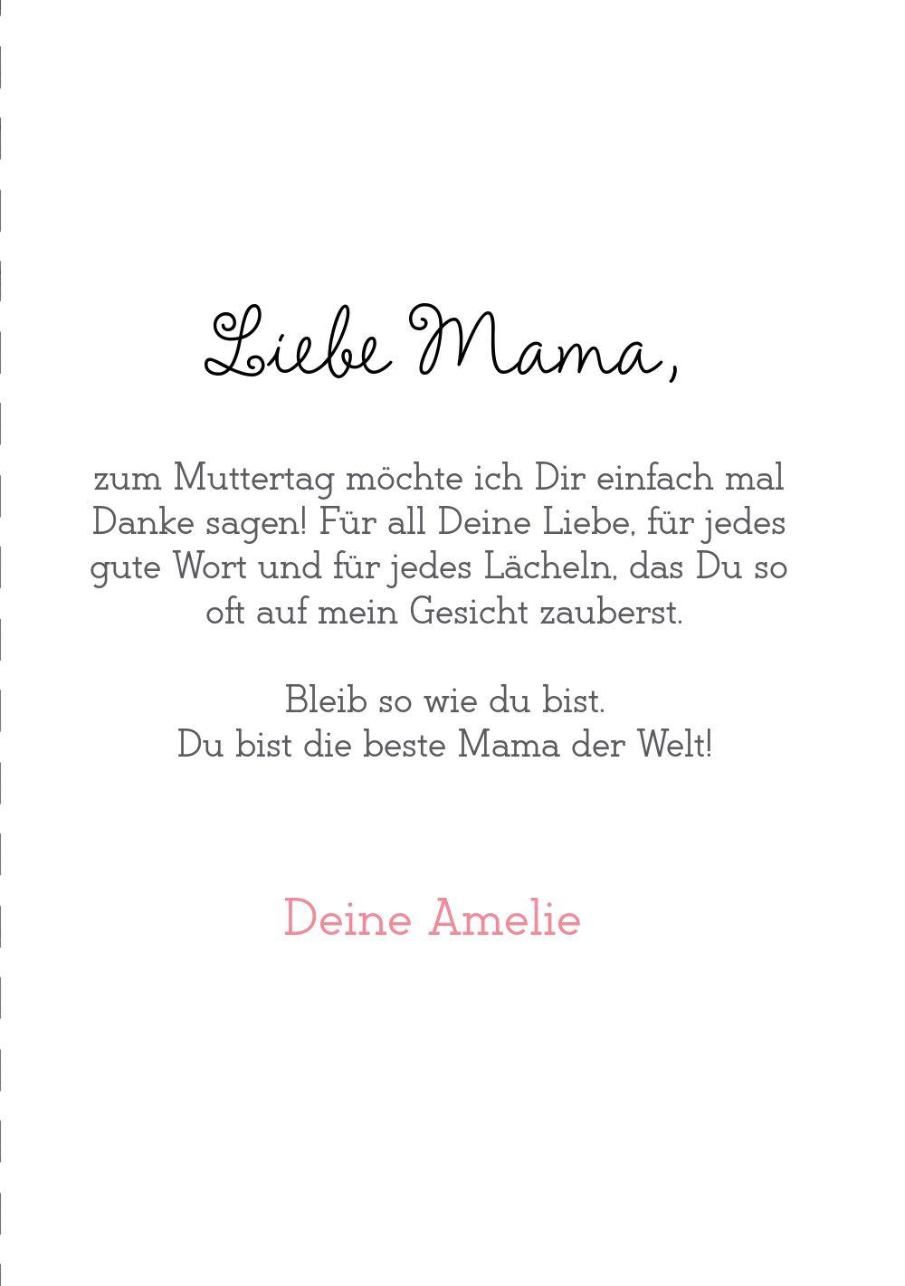 Ansicht 5 - Muttertagskarte Gut gemacht