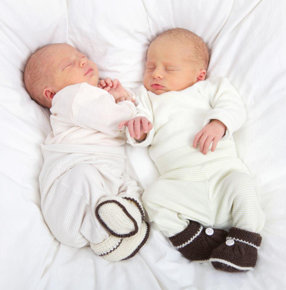 Ansicht 4 - Baby Dankeskarte Zwillinge Easy