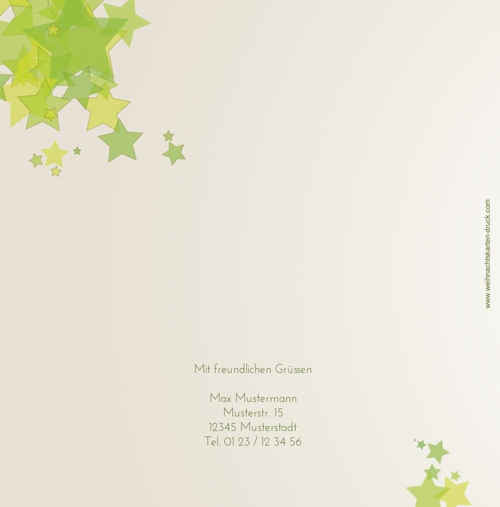 Ansicht 2 - Grußkarte Designerbaum