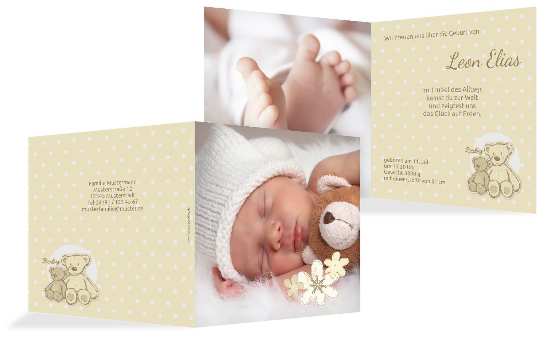Geburtskarte Punkte