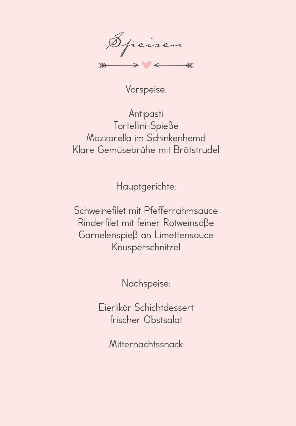 Ansicht 5 - Hochzeit Menükarte Pärchen - Frauen