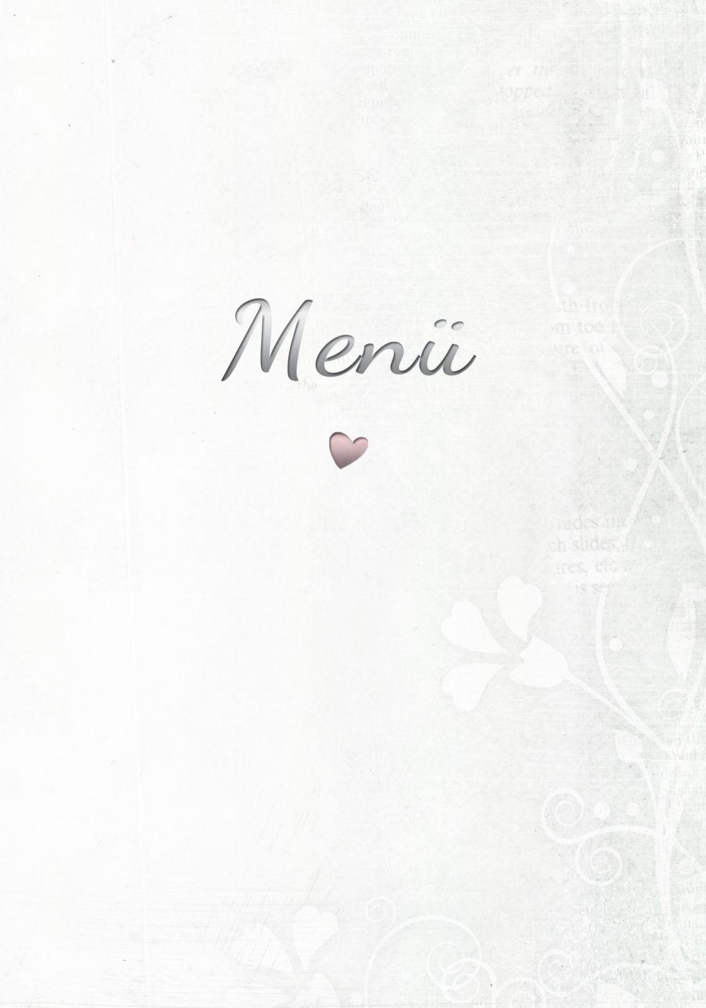 Ansicht 3 - Menükarte Im Zeichen der Liebe - Männer