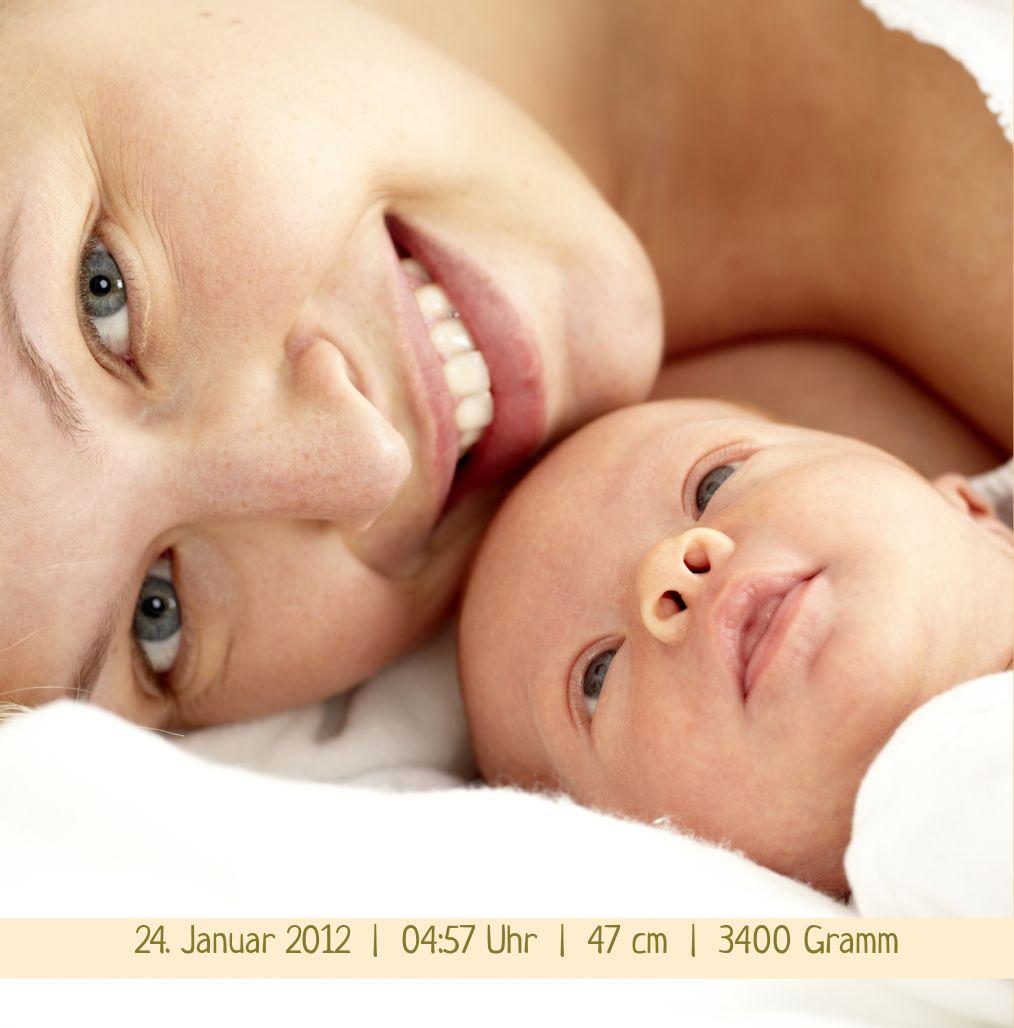 Ansicht 5 - Babykarte klangvolle Streifen