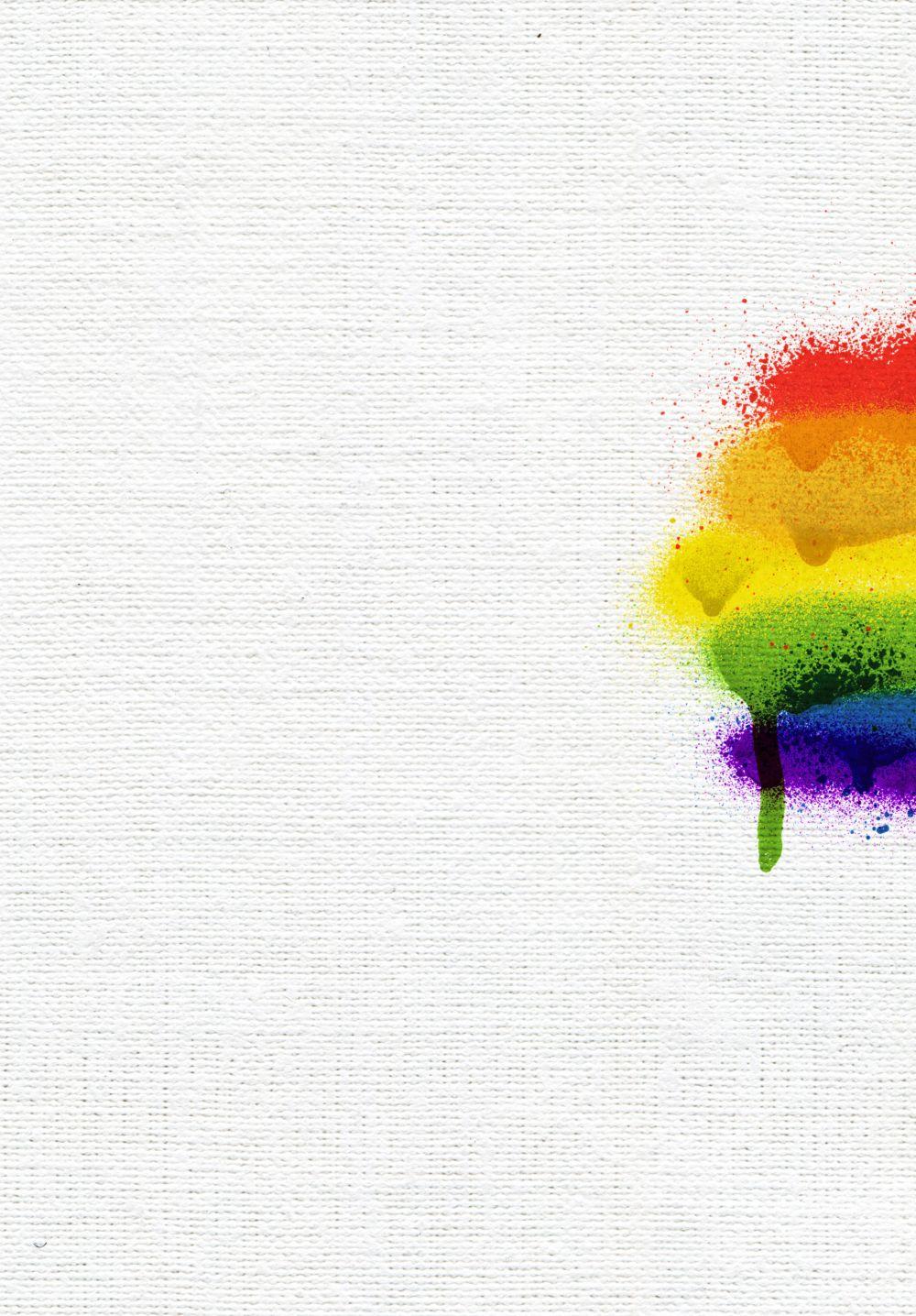 Ansicht 5 - Kirchenheft Umschlag Regenbogenliebe