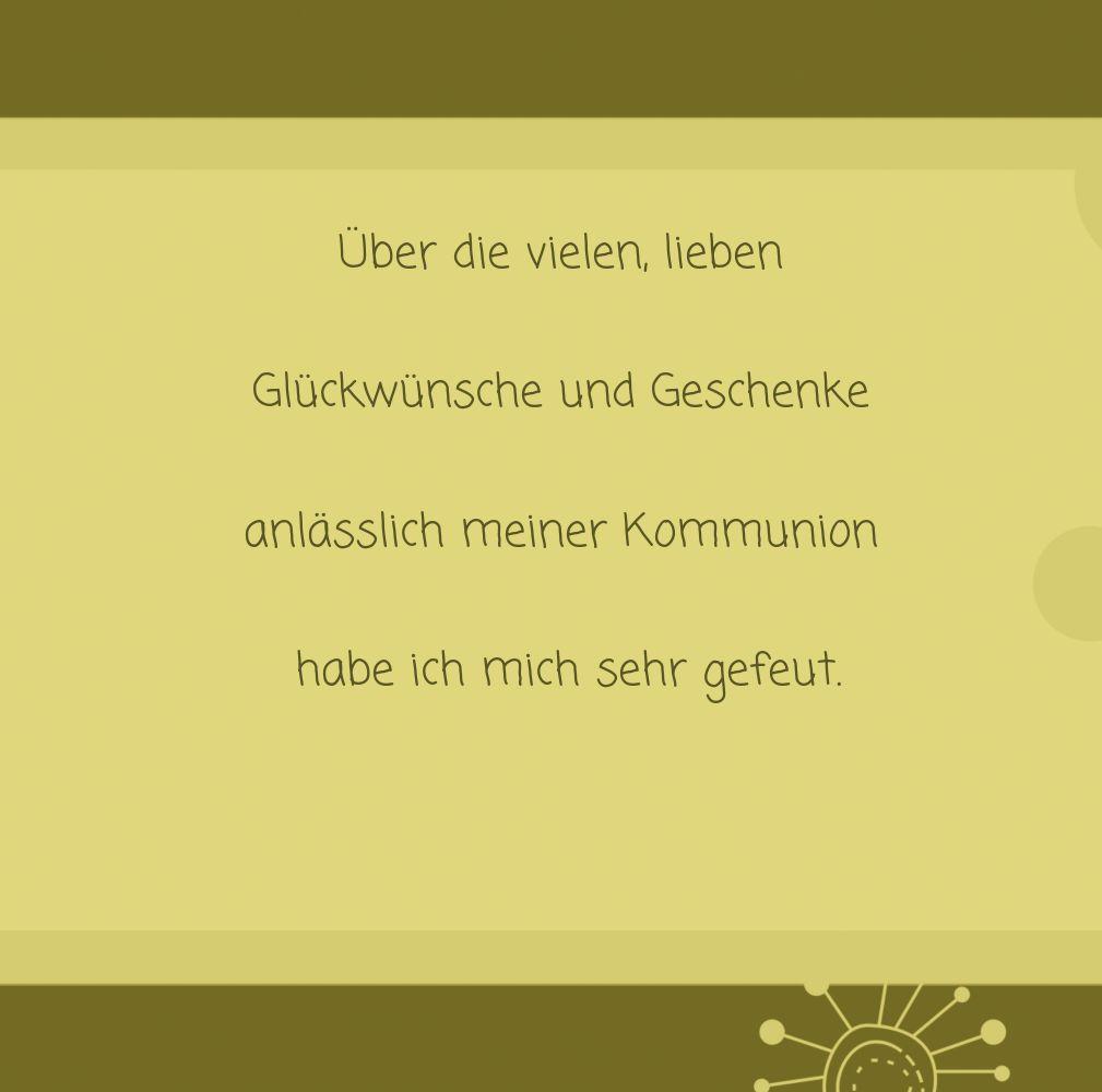 Ansicht 5 - Kommunion Dankeskarte Blumen