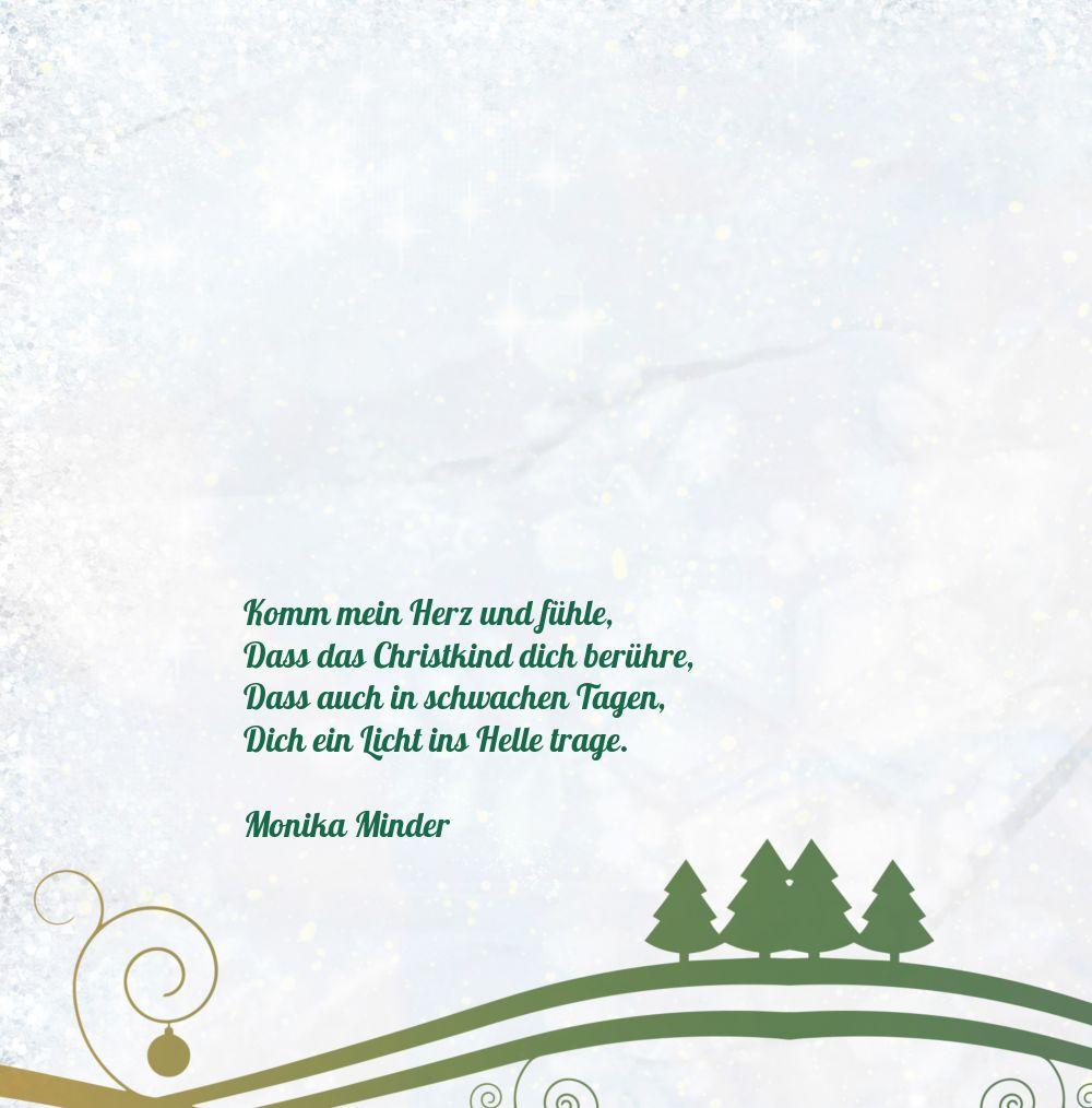 Ansicht 4 - Einladungskarte Bunter Wintertraum
