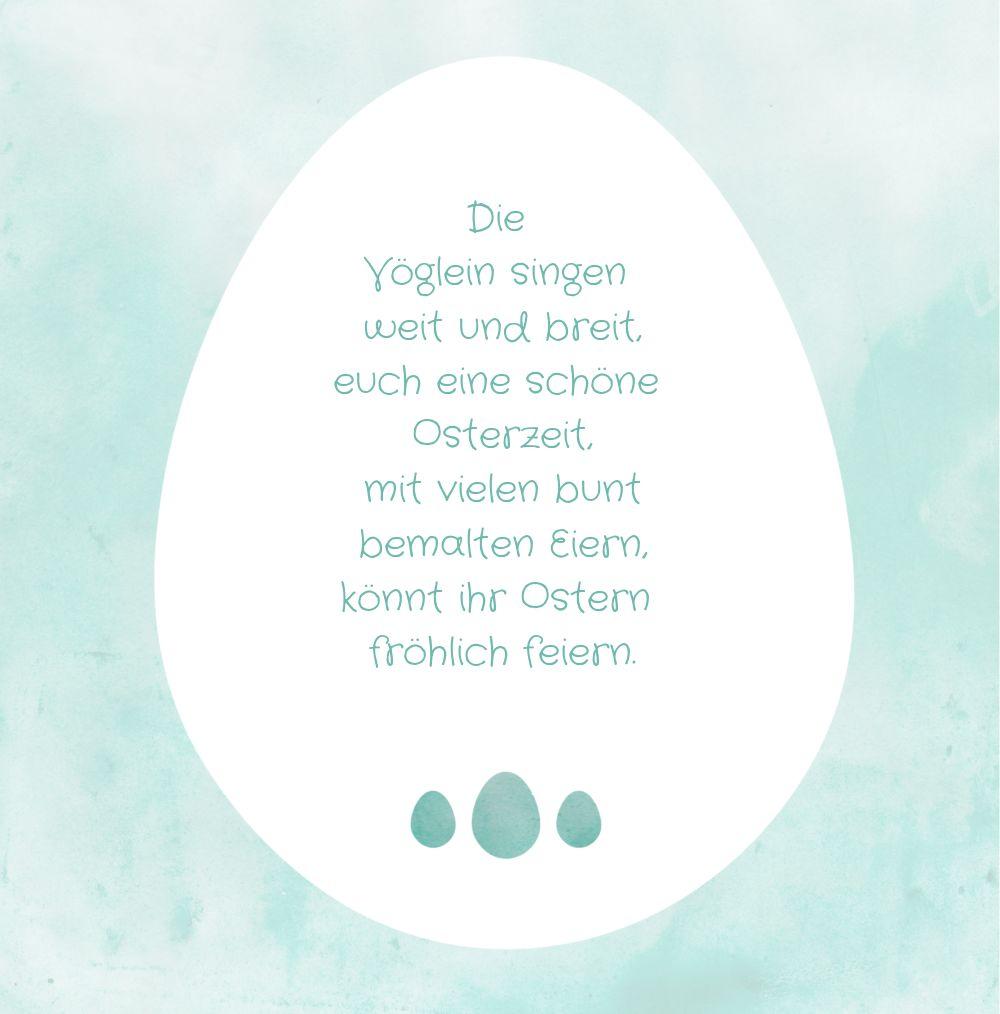 Ansicht 4 - Osterkarte Ostereiersuche