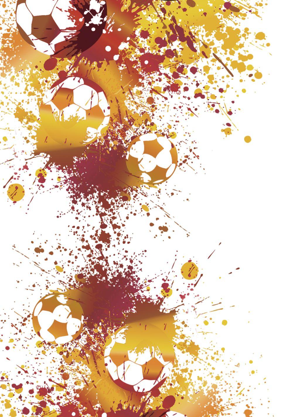 Ansicht 4 - Karte zum Geburtstag Fußballspiel