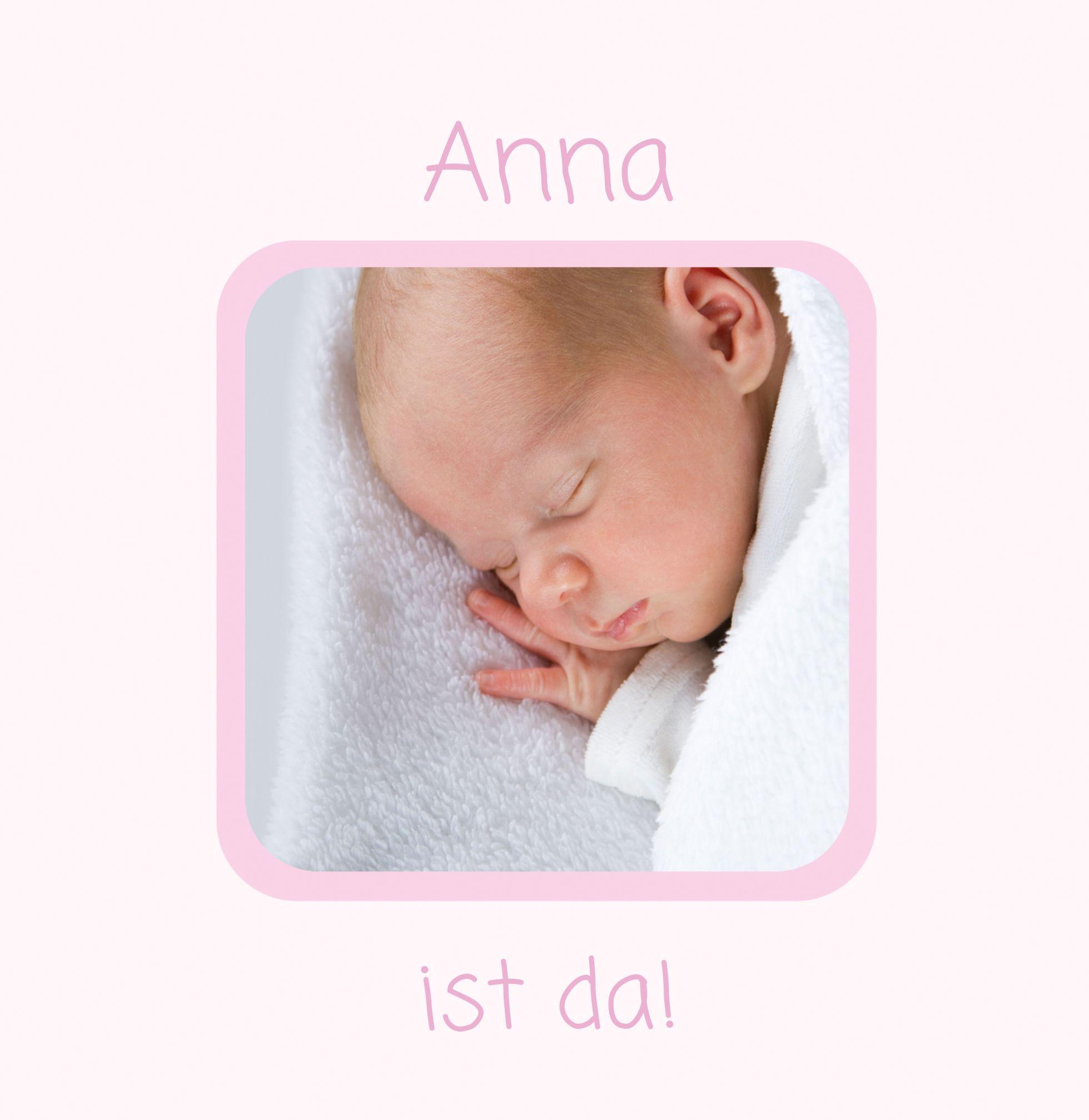 Ansicht 6 - Baby Dankeskarte Kästchen