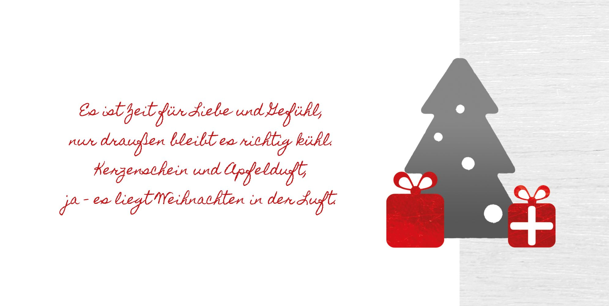 Ansicht 4 - Weihnachtsgrußkarte Geschenkebaum