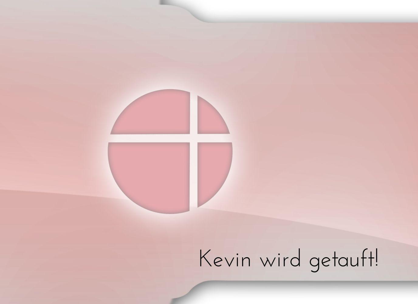 Ansicht 4 - Taufkarte Spiegelung