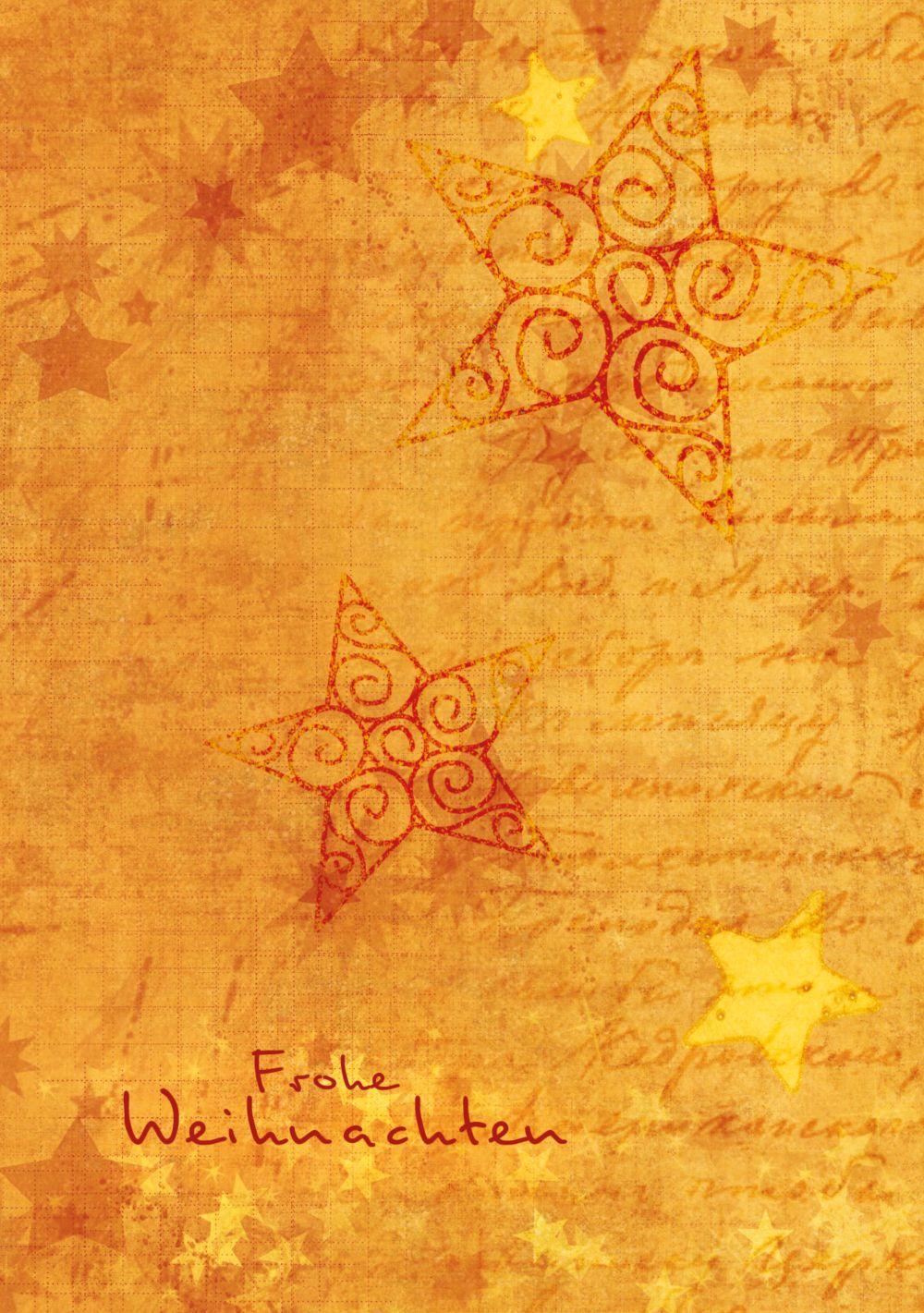 Ansicht 3 - Foto Grußkarte Sternengrund