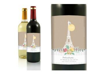 Flaschenetikett Paris