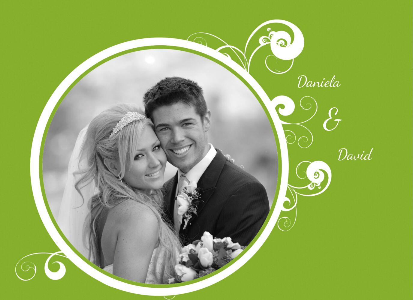 Ansicht 4 - Hochzeit Dankeskarte squiggle chubby