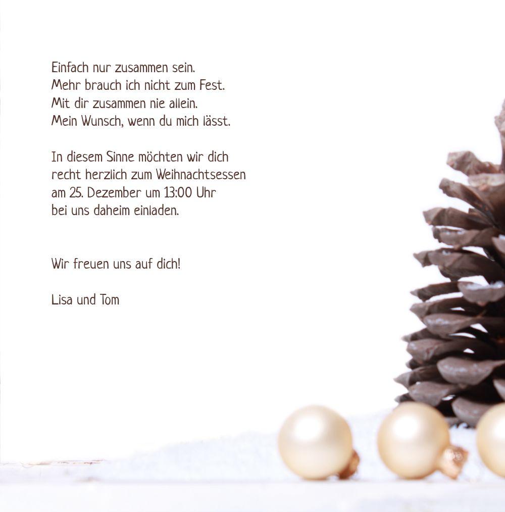 Ansicht 5 - Foto Einladung Weihnachtsengel