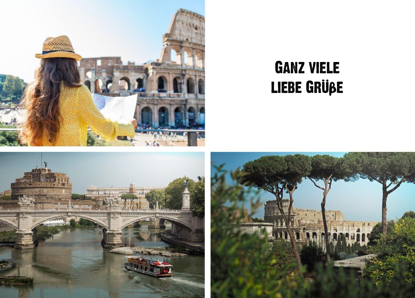 Ansicht 2 - Fotopostkarte Trio
