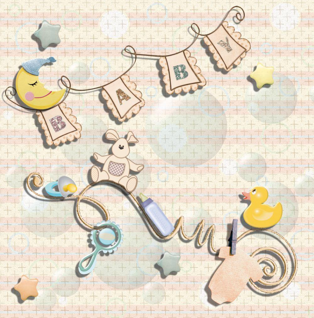 Ansicht 3 - Babykarte Babyelements