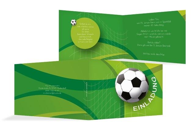 Einladung Zum Geburtstag Fussball
