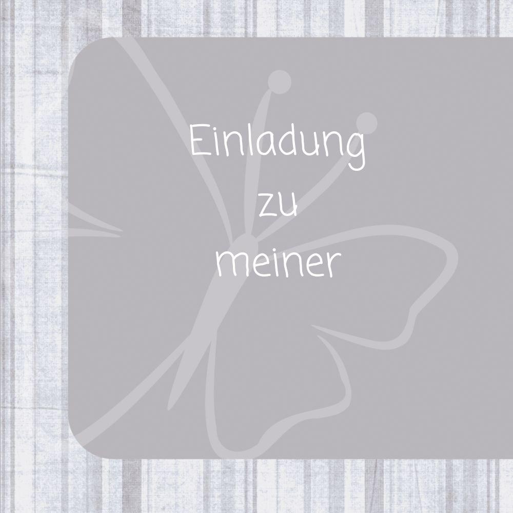 Ansicht 4 - Kommunionskarte Butterfly 2