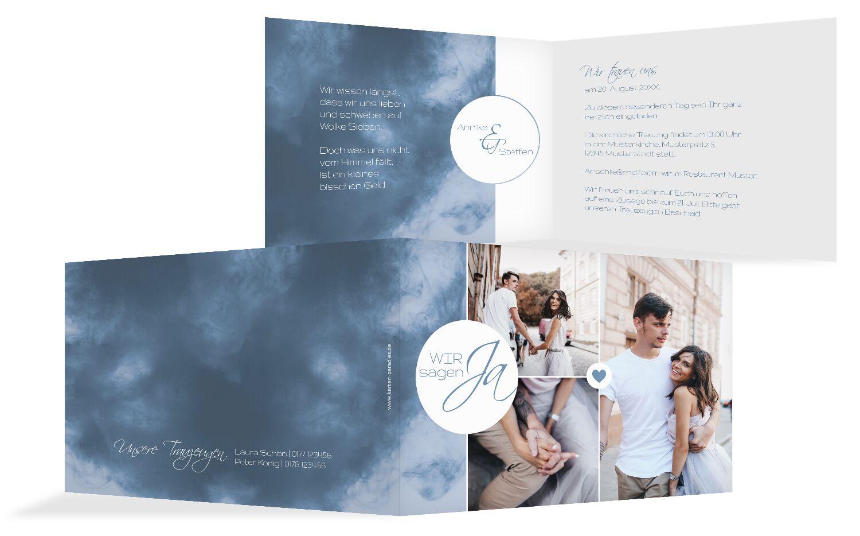 Hochzeit Einladung Sanft