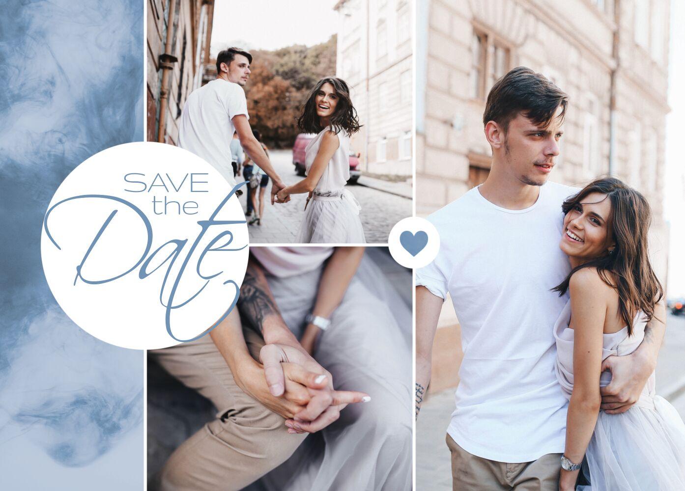 Ansicht 2 - Hochzeit Save-the-Date Sanft
