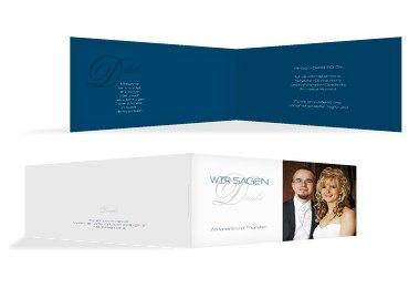 Hochzeit Dankeskarte Sagja