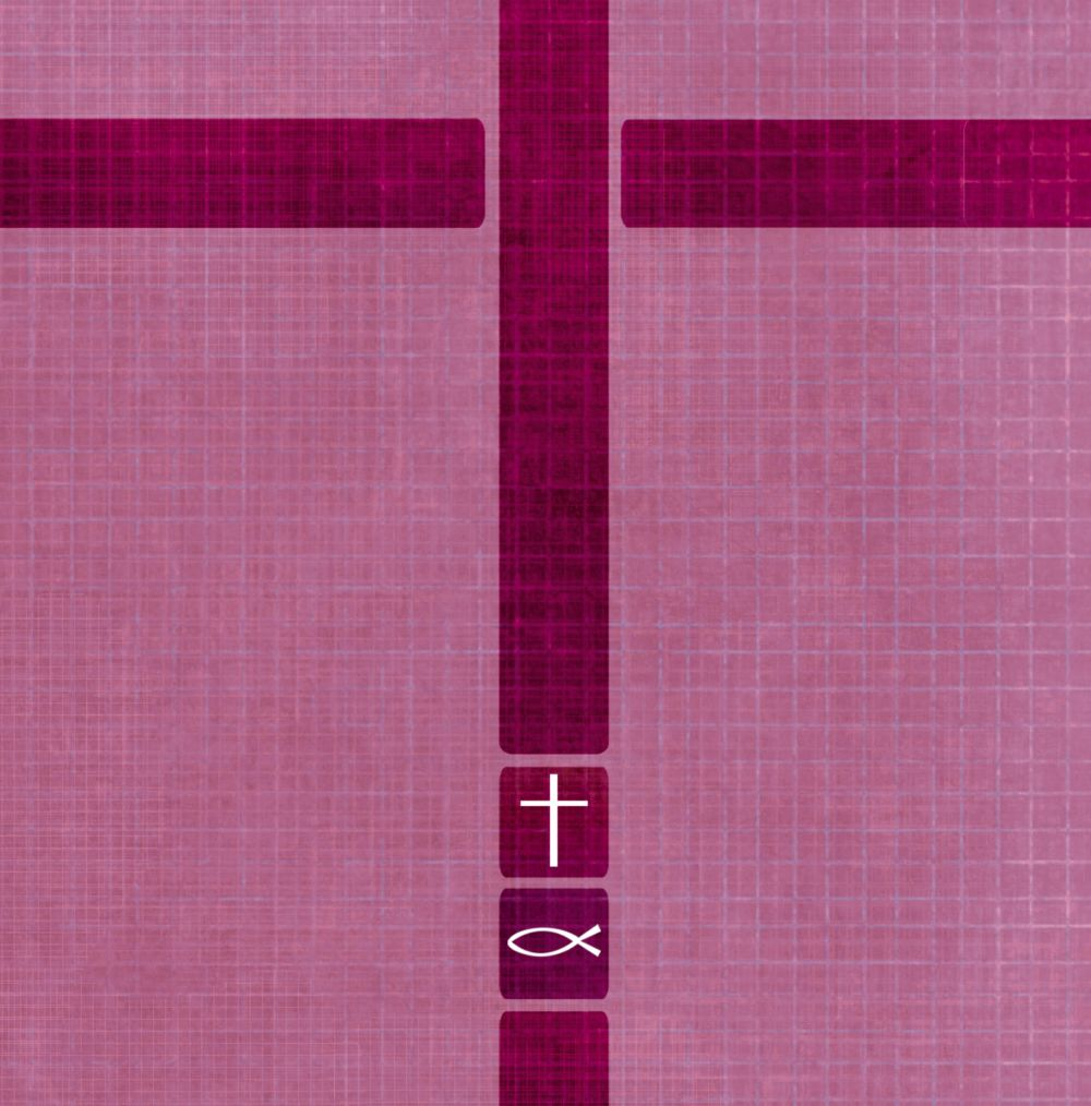Ansicht 4 - Taufkarte Glaube und Geborgenheit