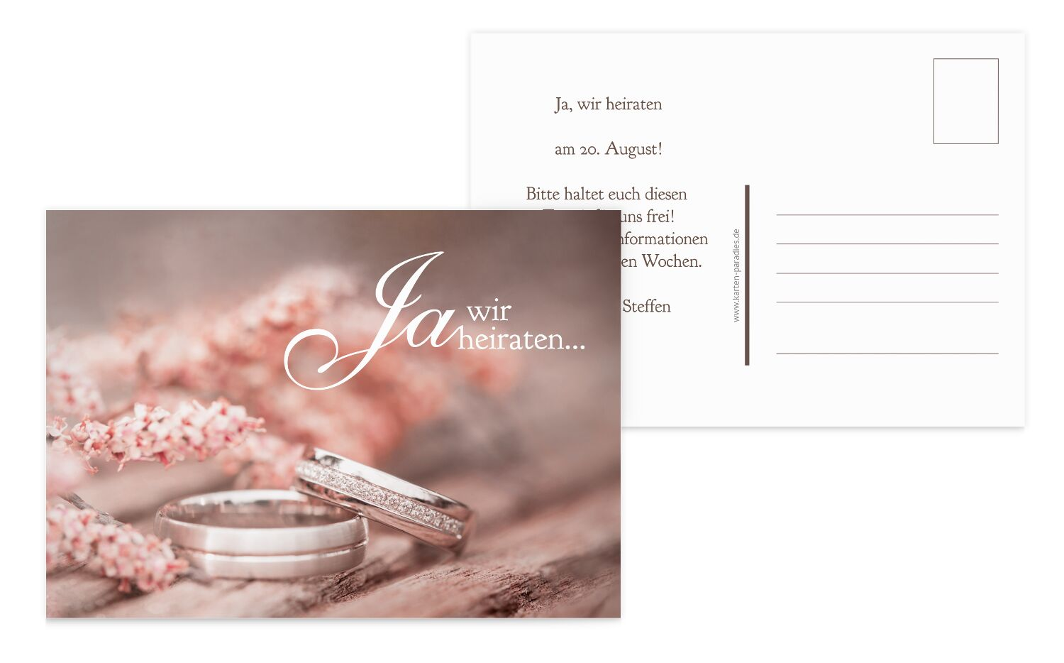 Save-the-Date Ringe