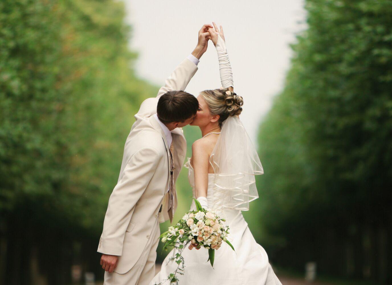Ansicht 4 - Hochzeit Dankeskarte Comic Brautpaar