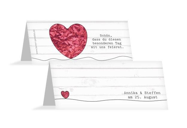 Hochzeit Tischkarten Mr&Mrs