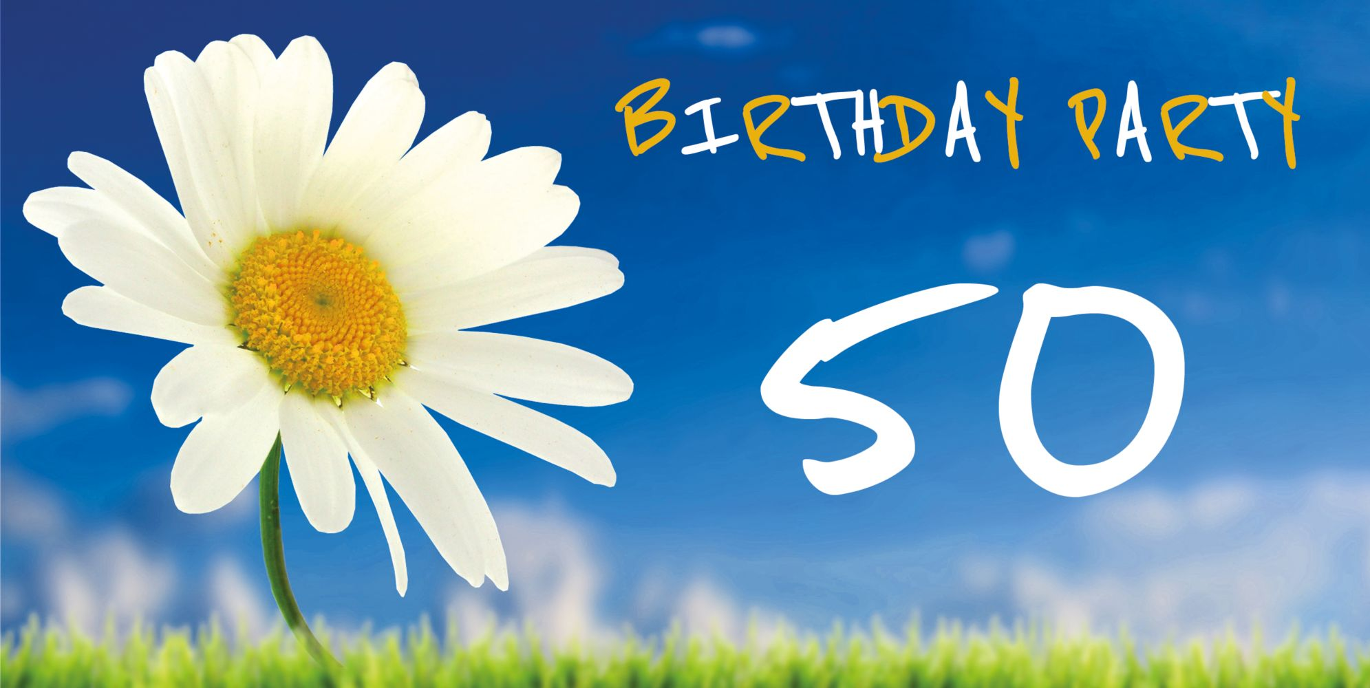 Ansicht 3 - Geburtstagseinladung Lebensfreude 50 Foto