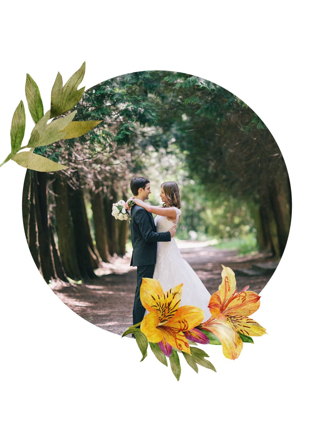 Ansicht 4 - Hochzeit Dankeskarte Blumendeko