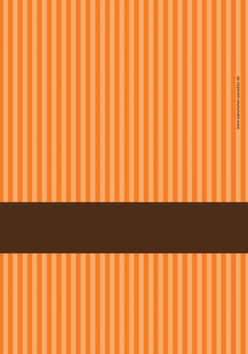 Ansicht 2 - Menükarte Kommunion stripes-buttons