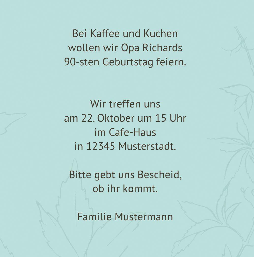 Ansicht 5 - Einladung Herbst 90