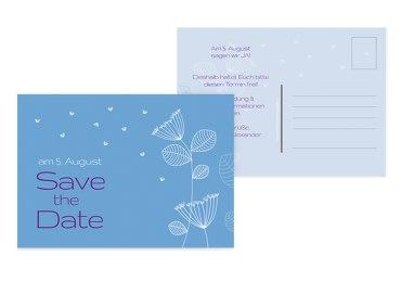 Save-the-Date Pusteblume