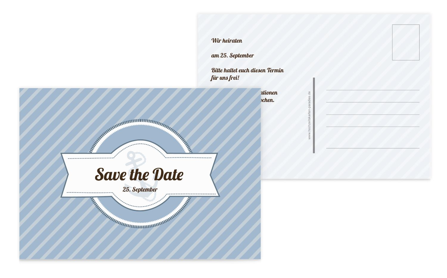 Save-the-Date Leuchtturm