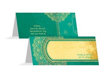 Hochzeit Tischkarte Mumbai
